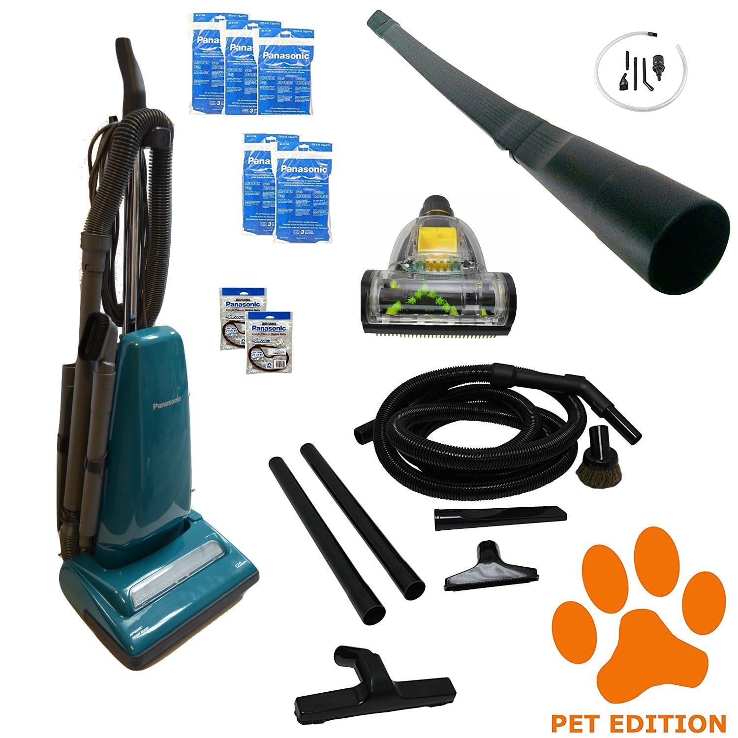 Panasonic Vacuum Cleaner Have Many Attachments For Canister